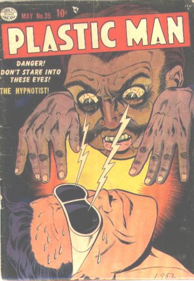 Cover for Plastic Man (Quality Comics, 1943 series) #35