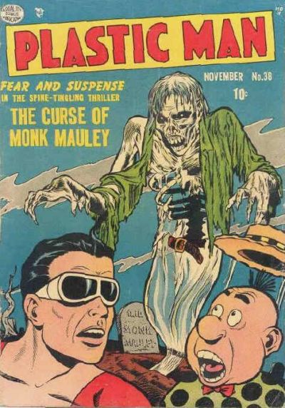 Cover for Plastic Man (Quality Comics, 1943 series) #38