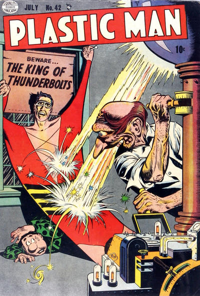 Cover for Plastic Man (Quality Comics, 1943 series) #42