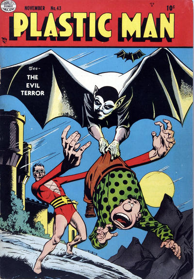 Cover for Plastic Man (Quality Comics, 1943 series) #43