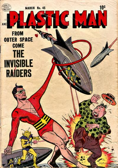 Cover for Plastic Man (Quality Comics, 1943 series) #45