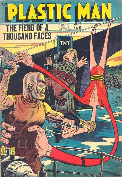 Cover for Plastic Man (Quality Comics, 1943 series) #47
