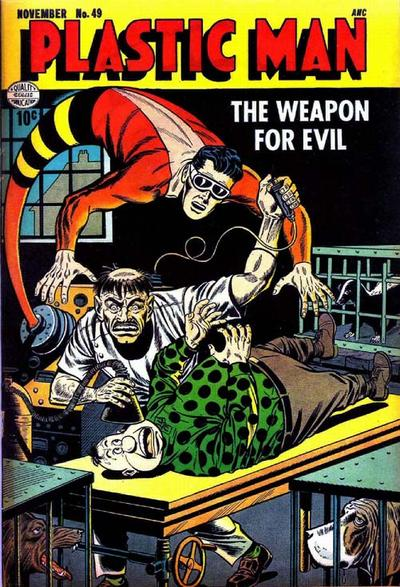Cover for Plastic Man (Quality Comics, 1943 series) #49