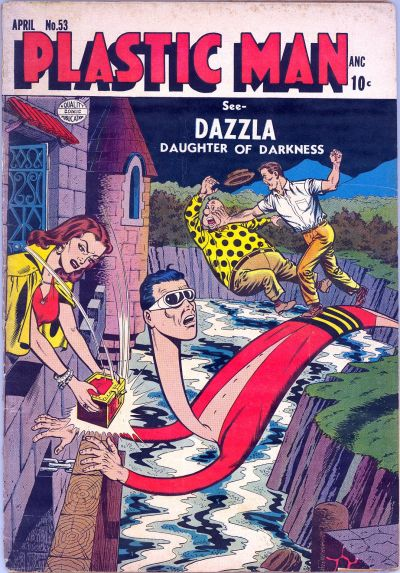 Cover for Plastic Man (Quality Comics, 1943 series) #53