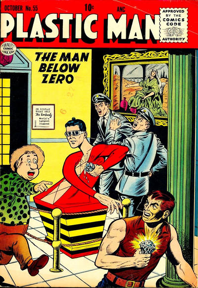 Cover for Plastic Man (Quality Comics, 1943 series) #55