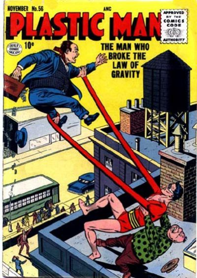 Cover for Plastic Man (Quality Comics, 1943 series) #56