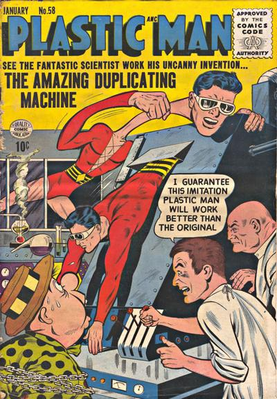 Cover for Plastic Man (Quality Comics, 1943 series) #58