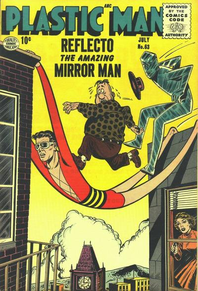 Cover for Plastic Man (Quality Comics, 1943 series) #63