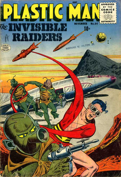 Cover for Plastic Man (Quality Comics, 1943 series) #64