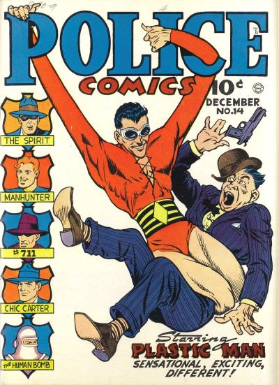 Cover for Police Comics (Quality Comics, 1941 series) #14
