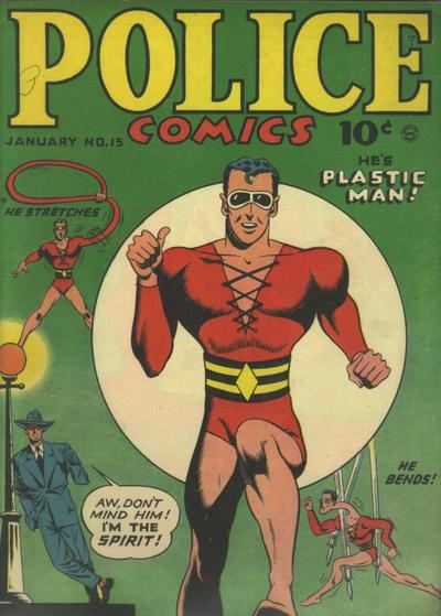 Cover for Police Comics (Quality Comics, 1941 series) #15