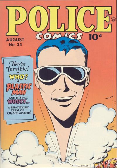 Cover for Police Comics (Quality Comics, 1941 series) #33