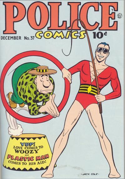 Cover for Police Comics (Quality Comics, 1941 series) #37