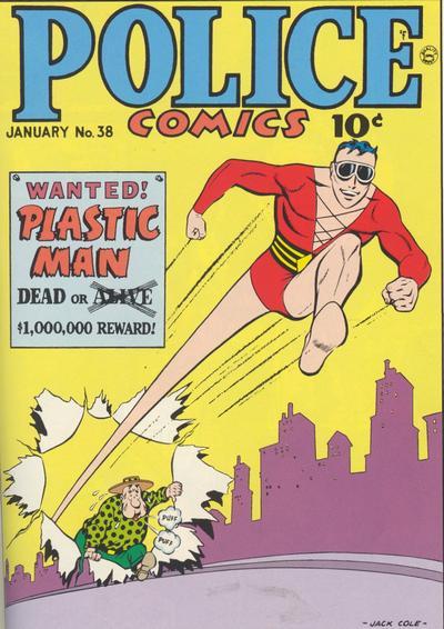 Cover for Police Comics (Quality Comics, 1941 series) #38