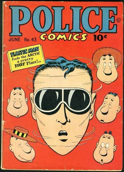 Cover for Police Comics (Quality Comics, 1941 series) #43