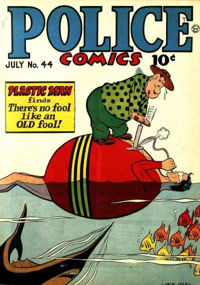 Cover for Police Comics (Quality Comics, 1941 series) #44