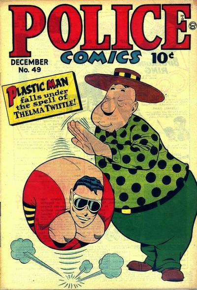 Cover for Police Comics (Quality Comics, 1941 series) #49