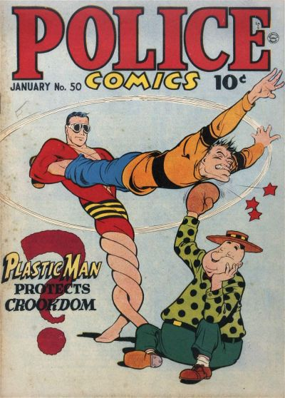 Cover for Police Comics (Quality Comics, 1941 series) #50