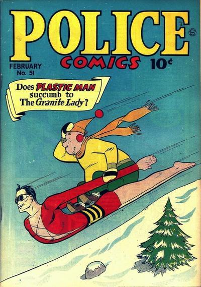 Cover for Police Comics (Quality Comics, 1941 series) #51