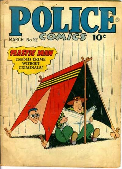 Cover for Police Comics (Quality Comics, 1941 series) #52