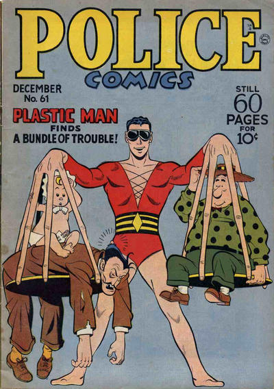 Cover for Police Comics (Quality Comics, 1941 series) #61
