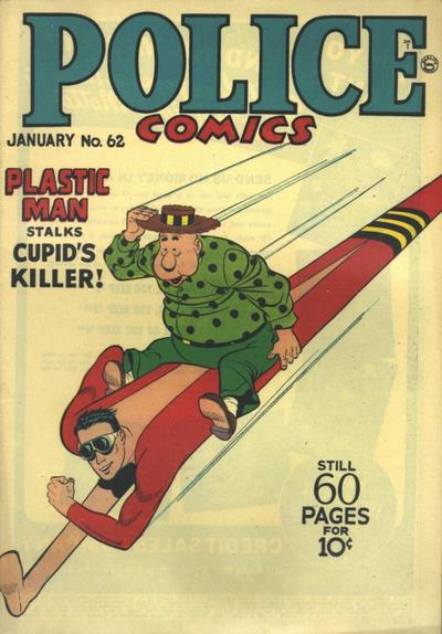 Cover for Police Comics (Quality Comics, 1941 series) #62