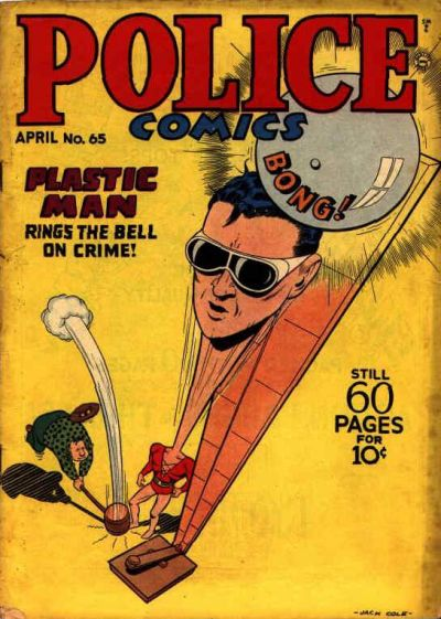 Cover for Police Comics (Quality Comics, 1941 series) #65