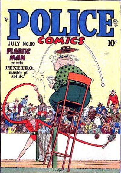 Cover for Police Comics (Quality Comics, 1941 series) #80