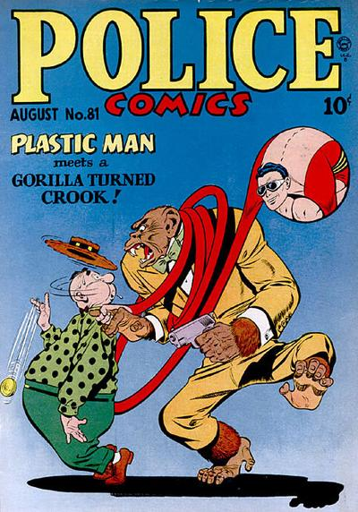 Cover for Police Comics (Quality Comics, 1941 series) #81