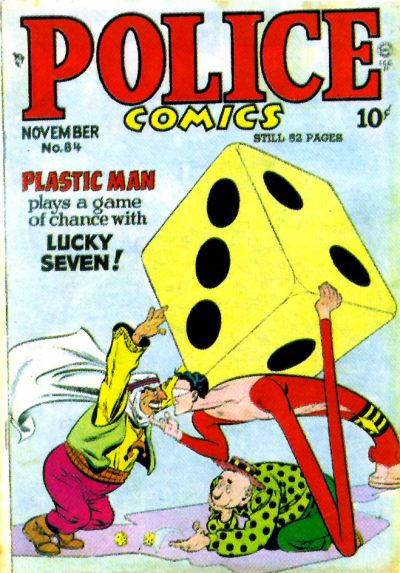 Cover for Police Comics (Quality Comics, 1941 series) #84