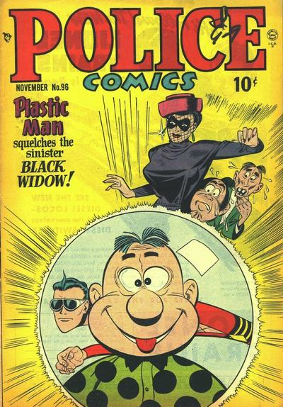 Cover for Police Comics (Quality Comics, 1941 series) #96