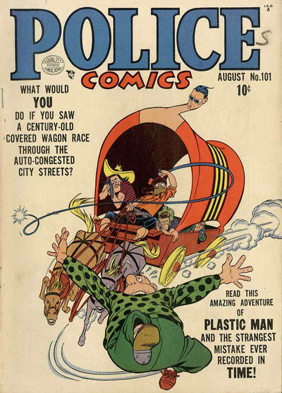 Cover for Police Comics (Quality Comics, 1941 series) #101