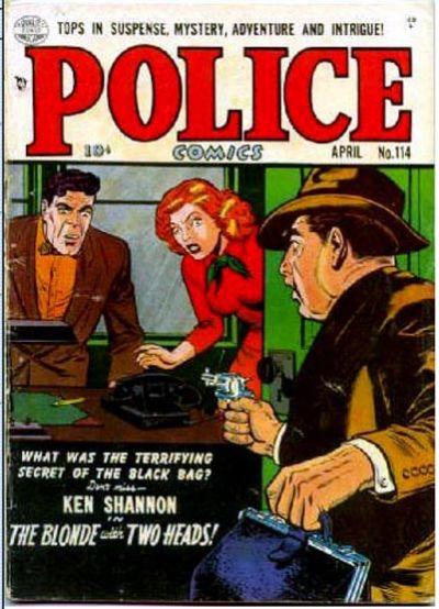 Cover for Police Comics (Quality Comics, 1941 series) #114