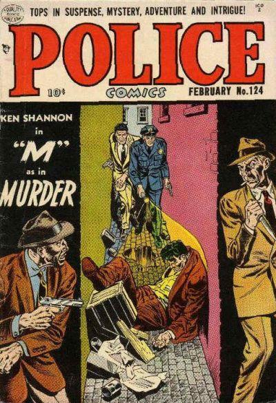 Cover for Police Comics (Quality Comics, 1941 series) #124