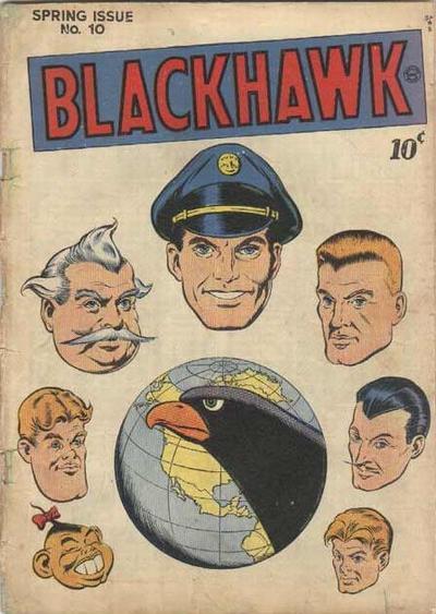 Cover for Blackhawk (Quality Comics, 1944 series) #10