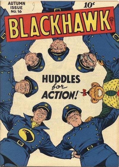 Cover for Blackhawk (Quality Comics, 1944 series) #16
