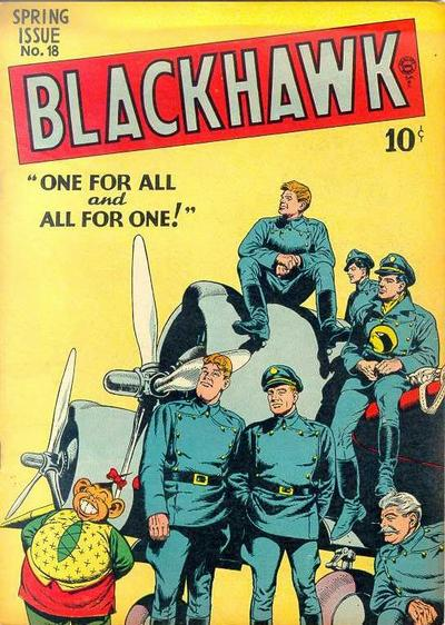 Cover for Blackhawk (Quality Comics, 1944 series) #18