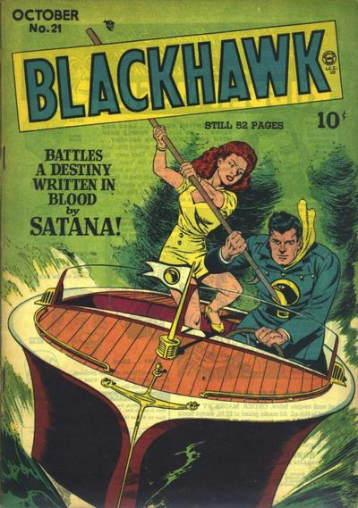Cover for Blackhawk (Quality Comics, 1944 series) #21