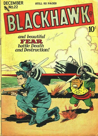 Cover for Blackhawk (Quality Comics, 1944 series) #22
