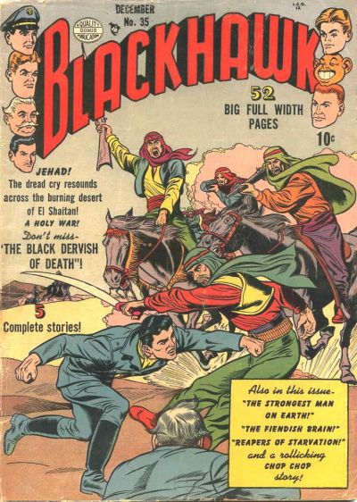 Cover for Blackhawk (Quality Comics, 1944 series) #35