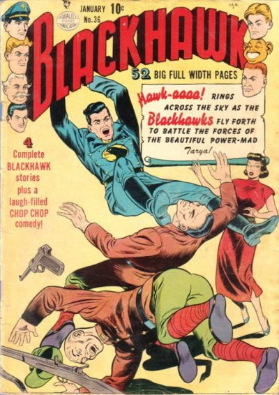 Cover for Blackhawk (Quality Comics, 1944 series) #36