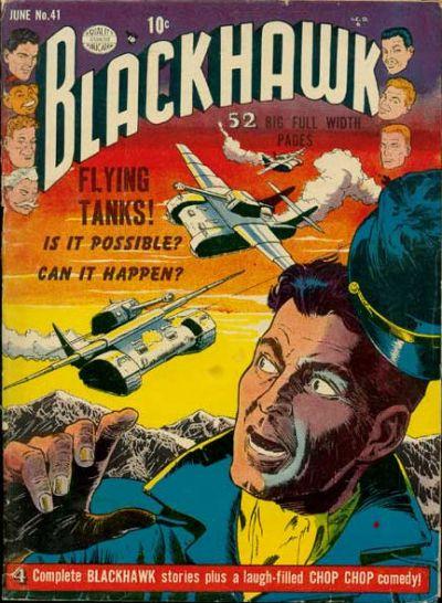 Cover for Blackhawk (Quality Comics, 1944 series) #41