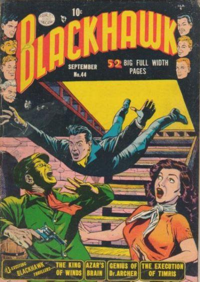 Cover for Blackhawk (Quality Comics, 1944 series) #44