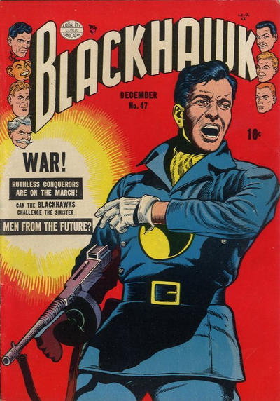 Cover for Blackhawk (Quality Comics, 1944 series) #47