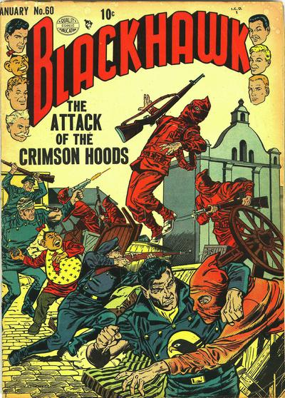 Cover for Blackhawk (Quality Comics, 1944 series) #60