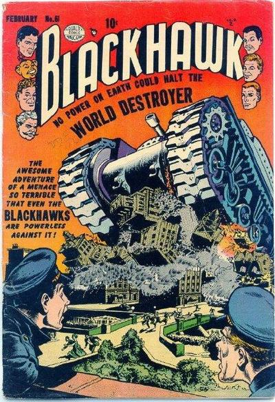 Cover for Blackhawk (Quality Comics, 1944 series) #61