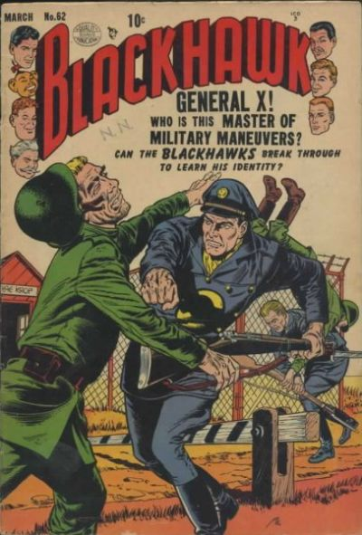 Cover for Blackhawk (Quality Comics, 1944 series) #62