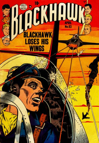 Cover for Blackhawk (Quality Comics, 1944 series) #63