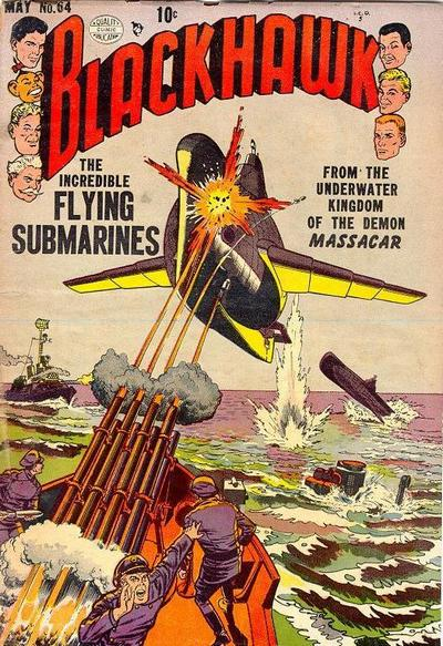 Cover for Blackhawk (Quality Comics, 1944 series) #64