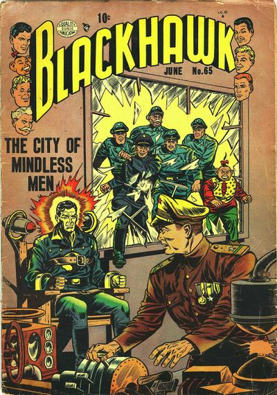 Cover for Blackhawk (Quality Comics, 1944 series) #65